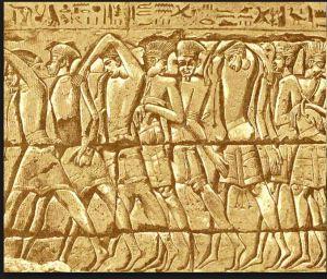 philistine-captives