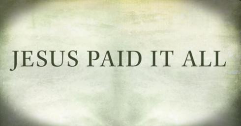 jesus-paid-it-all