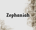 Zephaniah sketch