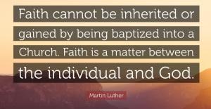 faith inherited
