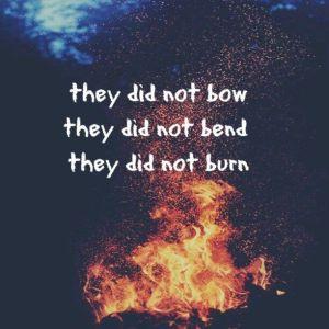 bend bow burn