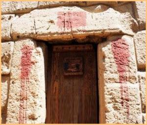 covered door