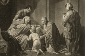 Jacobs blesses Josephs sons