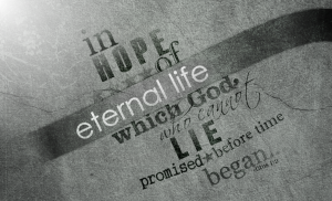 hope of eternal life